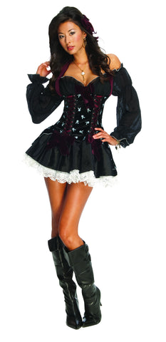 Womens/Teens Playboy Swashbuckler Pirate Costume - HalloweenCostumes4U.com - Adult Costumes