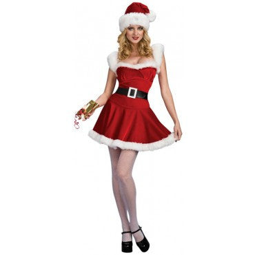 Womens/Teens Sexy Jingle Costume - HalloweenCostumes4U.com - Adult Costumes