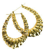 Rap Girl Earrings - HalloweenCostumes4U.com - Accessories
