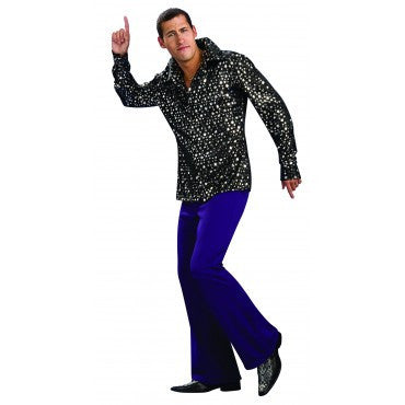 Mens Disco Shirt - HalloweenCostumes4U.com - Adult Costumes