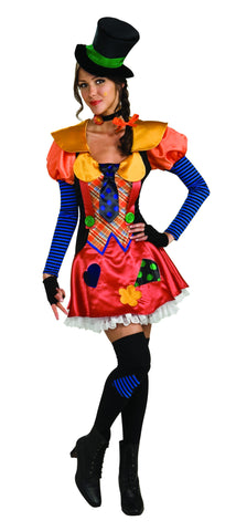 Womens Hobo Clown Costume - HalloweenCostumes4U.com - Adult Costumes