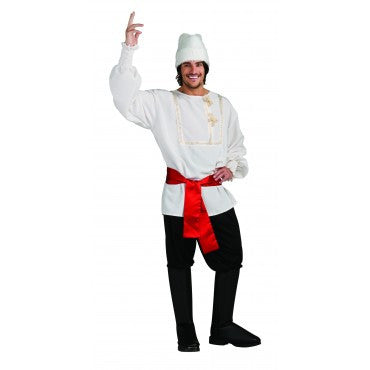 Mens White Russian Costume - HalloweenCostumes4U.com - Adult Costumes