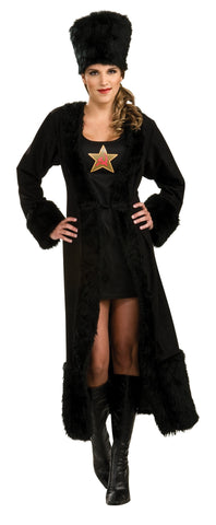 Womens Black Russian Costume - HalloweenCostumes4U.com - Adult Costumes
