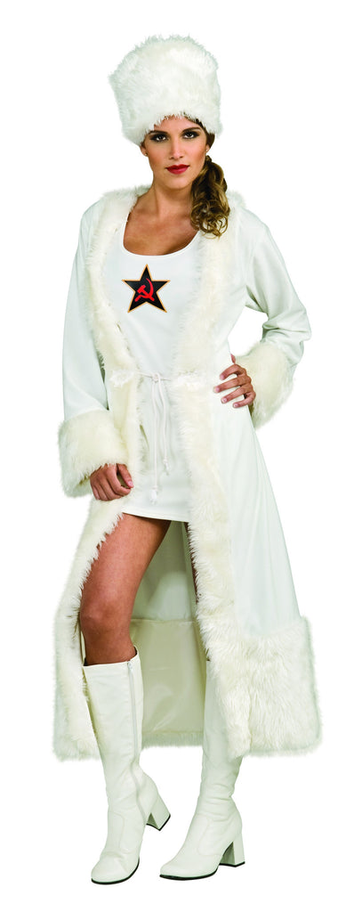 Womens White Russian Costume - HalloweenCostumes4U.com - Adult Costumes