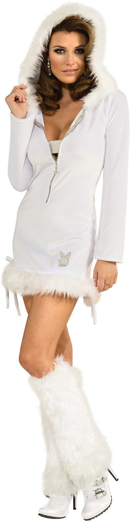 Womens/Teens Playboy Snow Bunny Costume - HalloweenCostumes4U.com - Adult Costumes