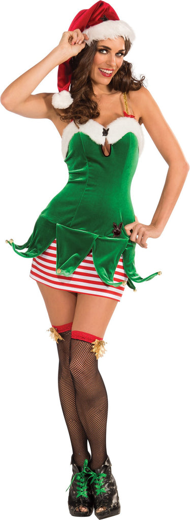 Womens/Teens Playboy Elf Costume - HalloweenCostumes4U.com - Adult Costumes