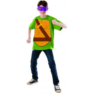 Boys Ninja Turtles Donatello Shirt - HalloweenCostumes4U.com - Kids Costumes