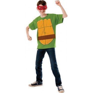 Boys Ninja Turtles Raphael T-Shirt - HalloweenCostumes4U.com - Kids Costumes
