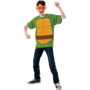 Boys Ninja Turtles Michelangelo Costume - HalloweenCostumes4U.com - Kids Costumes