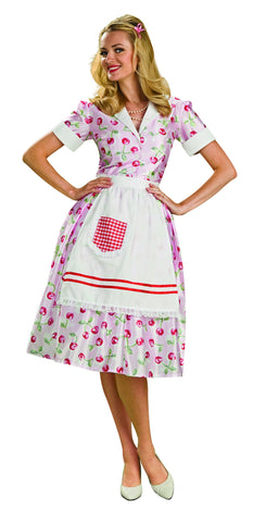 Womens 50's Housewife Costume - HalloweenCostumes4U.com - Adult Costumes