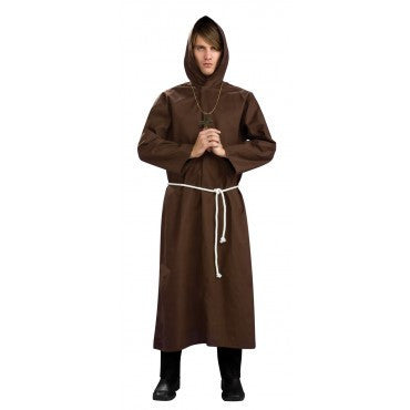 Mens Monk Robe - HalloweenCostumes4U.com - Adult Costumes