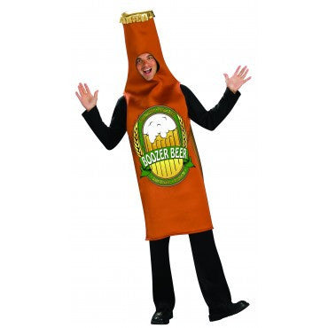Mens Beer Bottle Costume - HalloweenCostumes4U.com - Adult Costumes