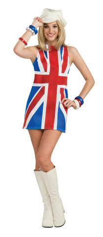 Womens British Invasion Costume - HalloweenCostumes4U.com - Adult Costumes