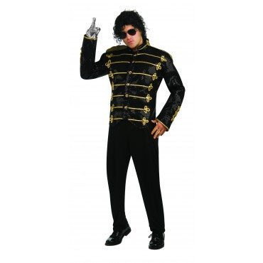 Mens Michael Jackson Deluxe Military Jacket - HalloweenCostumes4U.com - Adult Costumes