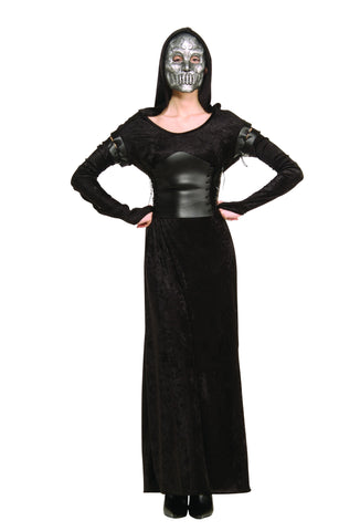 Womens Harry Potter Death Eater Costume - HalloweenCostumes4U.com - Adult Costumes