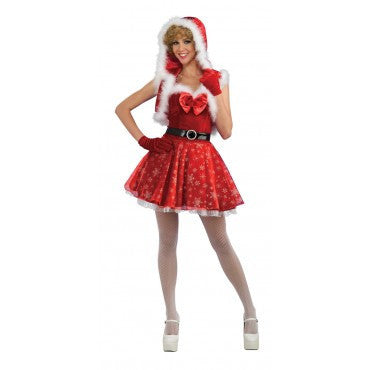 Womens/Teens Miss Snowflake Costume - HalloweenCostumes4U.com - Adult Costumes