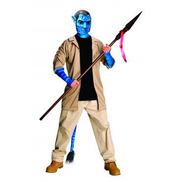 Mens Avatar Deluxe Jake Sully Costume - HalloweenCostumes4U.com - Adult Costumes