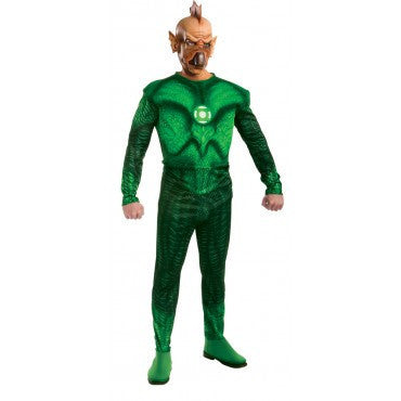Mens Green Lantern Deluxe Tomar-Re Costume - HalloweenCostumes4U.com - Adult Costumes