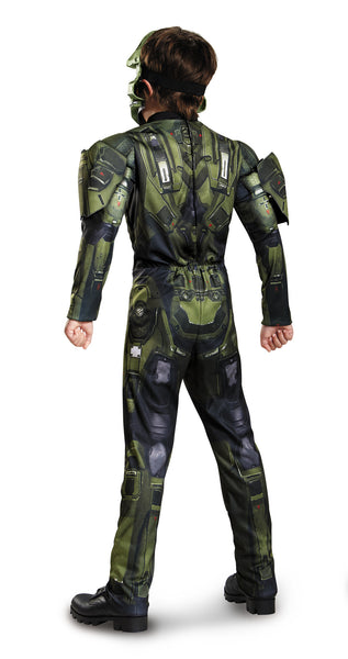 Boys Halo Master Chief Muscle Costume - HalloweenCostumes4U.com - Kids Costumes - 2