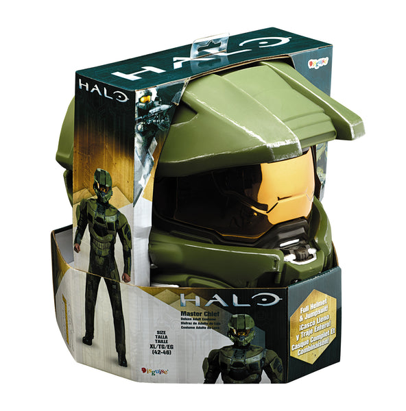 Mens Halo Deluxe Master Chief Costume - HalloweenCostumes4U.com - Adult Costumes - 4