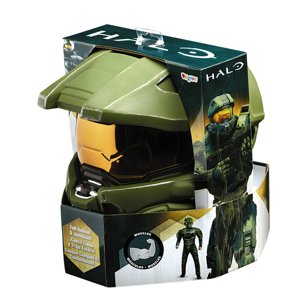 Mens Halo Deluxe Master Chief Costume - HalloweenCostumes4U.com - Adult Costumes - 3