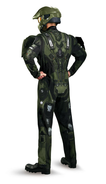 Mens Halo Deluxe Master Chief Costume - HalloweenCostumes4U.com - Adult Costumes - 2