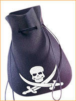 Pirate Pouch - HalloweenCostumes4U.com - Accessories