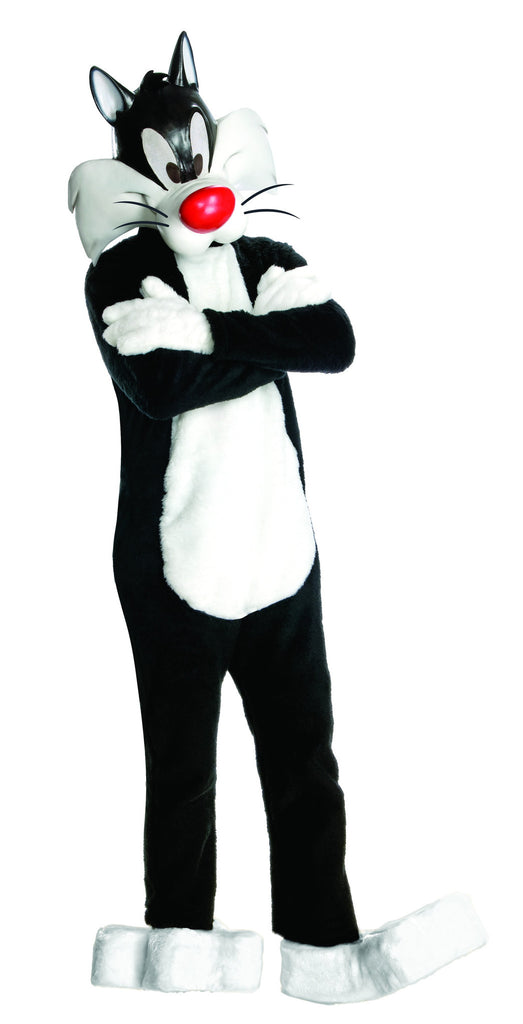 Adults Theatre Quality Looney Tunes Sylvester the Cat Costume - HalloweenCostumes4U.com - Adult Costumes