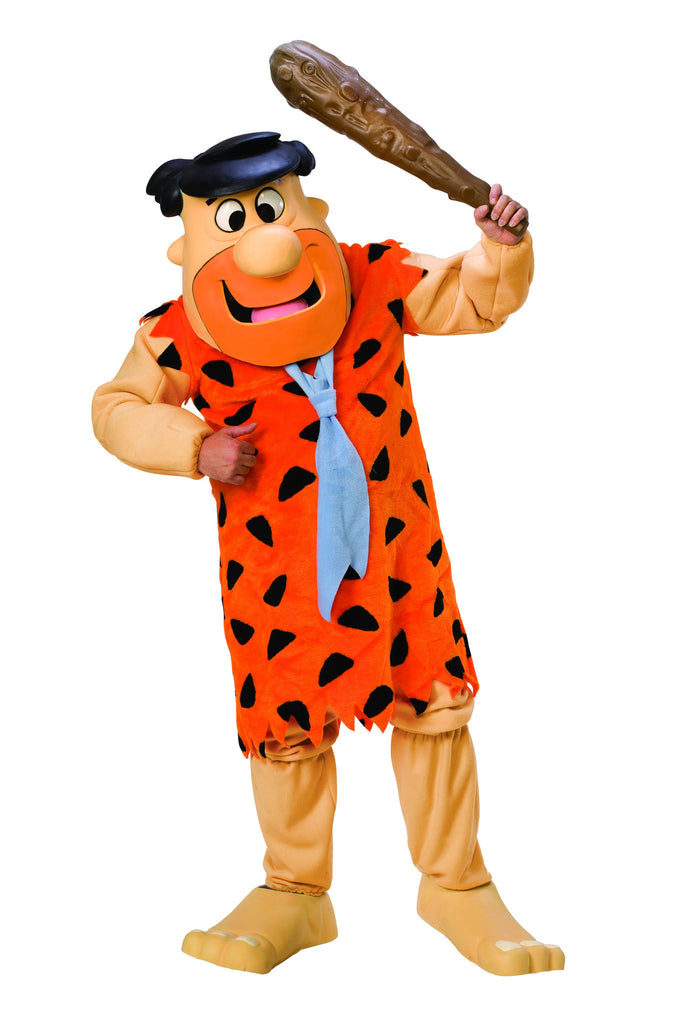 Adult Fred Flintstone Mascot/Parade Costume - HalloweenCostumes4U.com - Adult Costumes