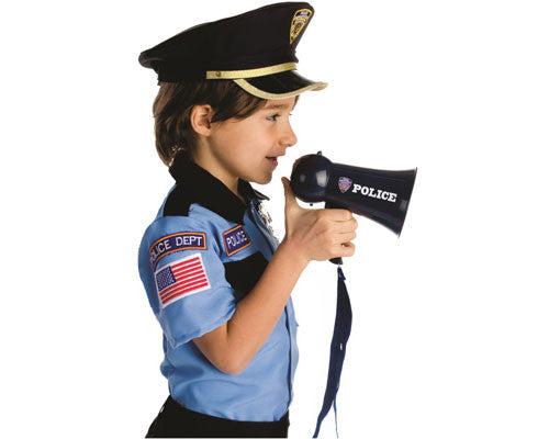 Police Mega Phone - HalloweenCostumes4U.com - Accessories