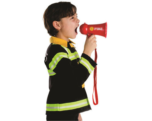 Firefighter Mega Phone Prop - HalloweenCostumes4U.com - Accessories - 2