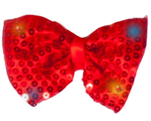 Light-Up Bow Tie - Various Colors - HalloweenCostumes4U.com - Accessories - 2