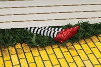 Wizard of Oz Wicked Witch Legs Prop - HalloweenCostumes4U.com - Decorations