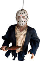 Friday the 13th Hanging Jason Decoration - HalloweenCostumes4U.com - Decorations