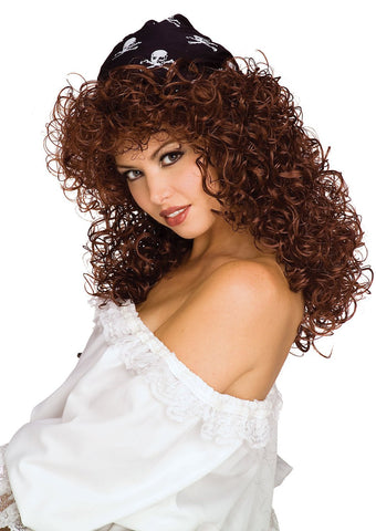 Pirate Queen Wig - Various Colors - HalloweenCostumes4U.com - Accessories - 1