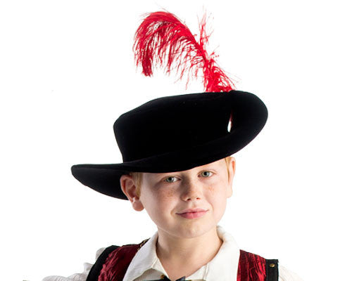 Musketeer Hat - HalloweenCostumes4U.com - Accessories