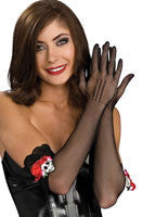 Day of the Dead Gloves - HalloweenCostumes4U.com - Accessories