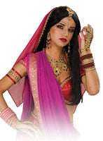 Gold & Red Bollywood Armband - HalloweenCostumes4U.com - Accessories