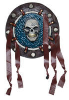 Tribal Warrior Death Shield - HalloweenCostumes4U.com - Accessories