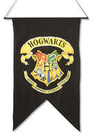 Harry Potter Hogwarts Wall Banner - HalloweenCostumes4U.com - Decorations