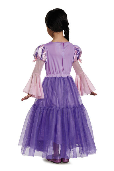 Girls Disney Princess Deluxe Rapunzel Costume - HalloweenCostumes4U.com - Kids Costumes - 2