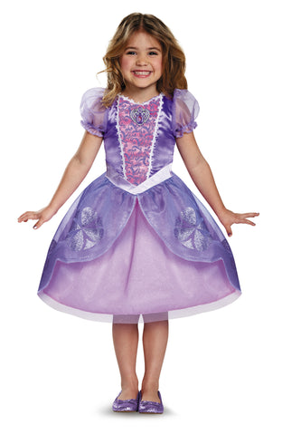 Girls Disney Princess Sofia the First Costume - HalloweenCostumes4U.com - Kids Costumes