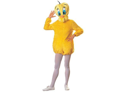 Adults Looney Tunes Tweety Bird Costume - HalloweenCostumes4U.com - Adult Costumes