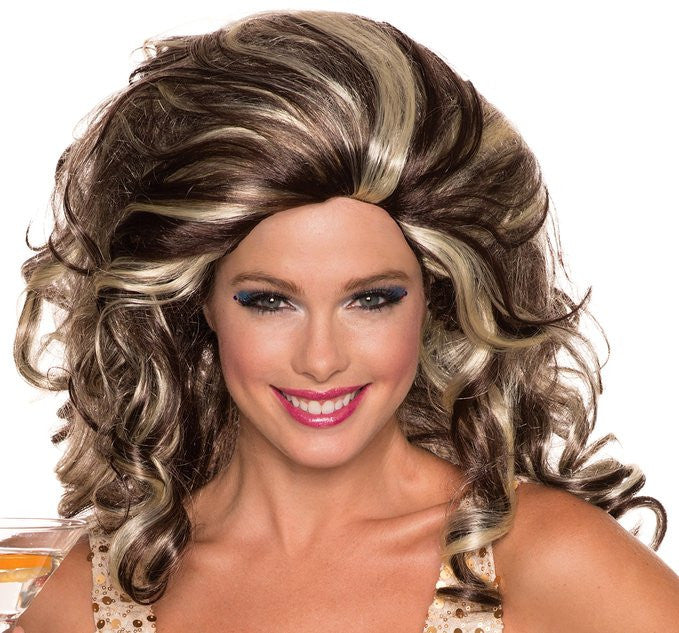 Anita Cocktail Wig - Various Colors - HalloweenCostumes4U.com - Accessories - 1