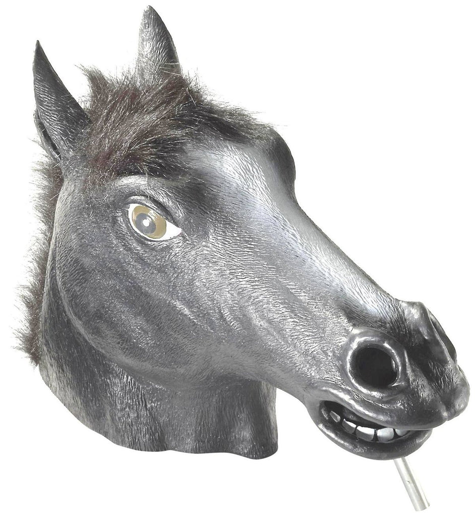 Black Horse Head Mask Halloween Costumes 4u Accessories