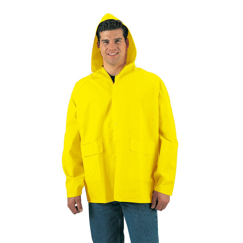 Mens Georgie Yellow Rain Jacket