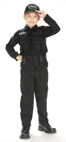 Boys S.W.A.T. Police Costume