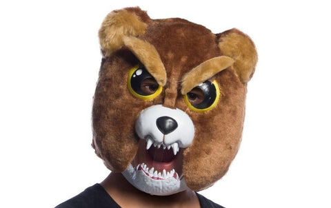 Kids Sir Growls-A-Lot Movable Jaw Mask - Feisty Pets