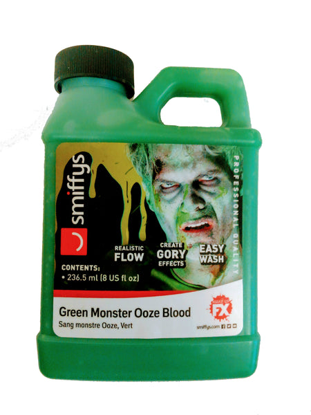 Green Monster Ooze Blood