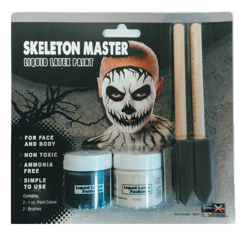 Skeleton Master Liquid Latex Kit